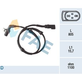 Sensor, Raddrehzahl Art. Nr. 78041 120,00€