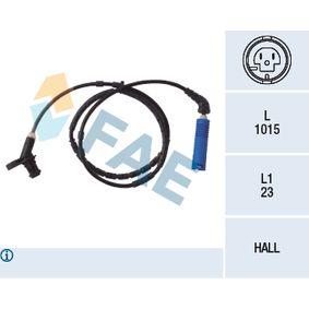 Sensor, Raddrehzahl Pol-Anzahl: 2-polig mit OEM-Nummer 3452 6752 683