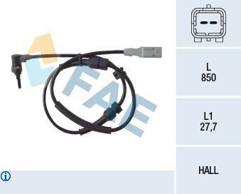 FAE  78086 Sensor, Raddrehzahl