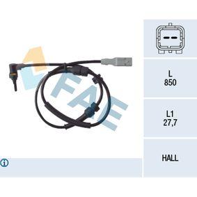 Sensor, Raddrehzahl Art. Nr. 78086 120,00€