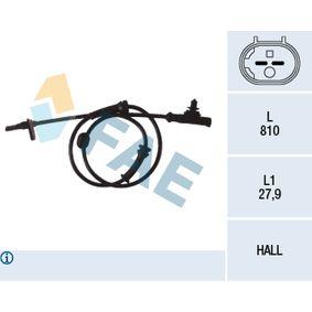 Sensor, Raddrehzahl mit OEM-Nummer 4545E1