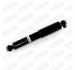 Amortiguador STARK 7790537 Eje trasero, Presión de gas, Amortiguador telescópico, Anillo superior, Anillo inferior
