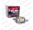 Rodamiento de rueda STARK 7790743 derecha, Eje delantero, izquierda, con anillo sensor ABS