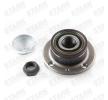 Rodamiento de rueda FIAT Doblo Familiar (119_, 223_) 2009 Año 7790754 STARK con sensor ABS incorporado