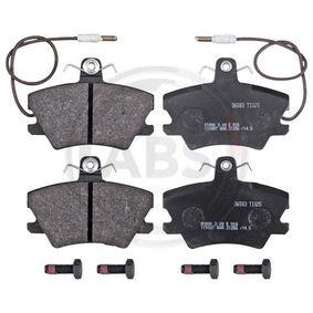 Bremsbelagsatz, Scheibenbremse Breite 1: 90mm, Höhe 1: 66mm, Dicke/Stärke 1: 15mm mit OEM-Nummer 6000 008 126