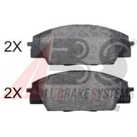 2003 Honda Civic Mk7 2.0 Type-R Brake Pad Set, disc brake 37174 OE