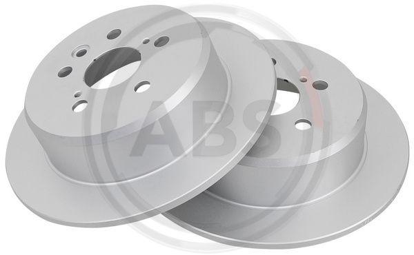 A.B.S. COATED 16545 Disque de frein Épaisseur du disque de frein: 9mm, Jante: 5Trou, Ø: 269mm