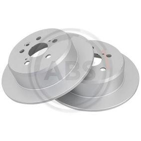 Disque de frein Épaisseur du disque de frein: 9mm, Jante: 5Trou, Ø: 269mm avec OEM numéro 42431 20200