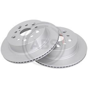 Bremsscheibe Bremsscheibendicke: 16mm, Felge: 5-loch, Ø: 310mm mit OEM-Nummer 4243150080