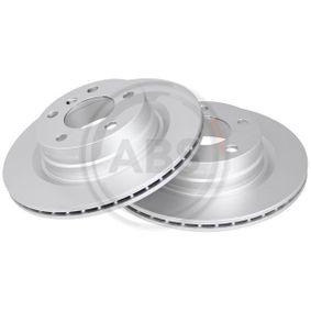 Bremsscheibe Bremsscheibendicke: 20,0mm, Felge: 5-loch, Ø: 300,0mm mit OEM-Nummer 34 21 6 792 227