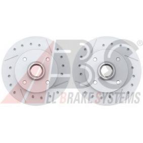 Bremsscheibe Bremsscheibendicke: 10mm, Felge: 4-loch, Ø: 226mm, Ø: 226mm mit OEM-Nummer 6N0 615 601