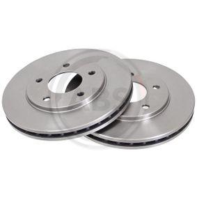 A.B.S.  16353 Bremsscheibe Bremsscheibendicke: 26,3mm, Felge: 5-loch, Ø: 267,0mm