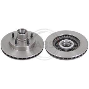 A.B.S.  16364 Bremsscheibe Bremsscheibendicke: 26,3mm, Felge: 5-loch, Ø: 267,0mm