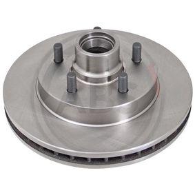 A.B.S.  16379 Bremsscheibe Bremsscheibendicke: 32,6mm, Felge: 5-loch, Ø: 295,0mm