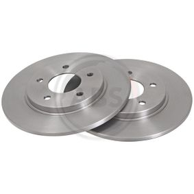 A.B.S.  16460 Bremsscheibe Bremsscheibendicke: 11,0mm, Felge: 5-loch, Ø: 278,0mm