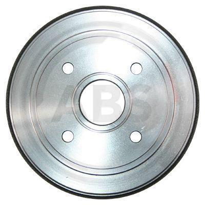A.B.S.  2757-S Brake Drum Outer Br. Sh. Diameter: 208mm, Rim: 4-Hole