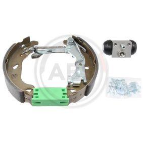Brake Set, drum brakes 111447 PUNTO (188) 1.2 16V 80 MY 2002