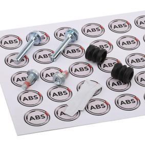 A.B.S. Führungshülsensatz, Bremssattel 55001 für AUDI 80 (8C, B4) 2.8 quattro ab Baujahr 09.1991, 174 PS