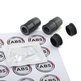 A.B.S. Führungshülsensatz, Bremssattel 55005 für AUDI A3 (8P1) 1.9 TDI ab Baujahr 05.2003, 105 PS