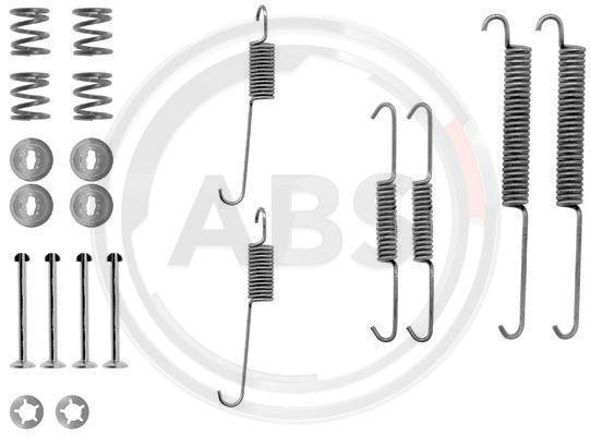 A.B.S.  0754Q Zubehörsatz, Bremsbacken