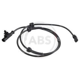 Sensor, wheel speed Length: 1155mm with OEM Number 47910-AX610