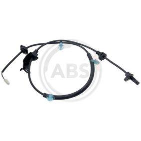 Sensor, rotações da roda Comprimento: 960mm com códigos OEM 20961
