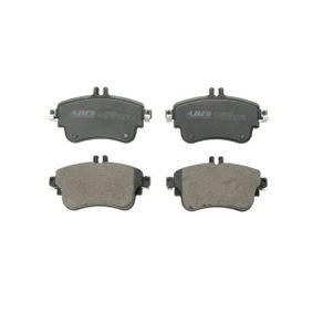 Bremsbelagsatz, Scheibenbremse Höhe: 71,5mm, Dicke/Stärke: 19mm mit OEM-Nummer A 00642 04820