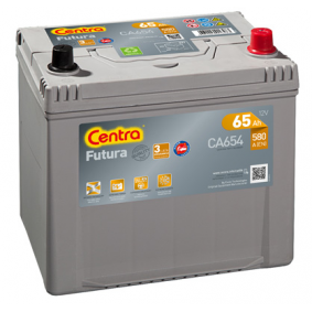 Starterbatterie CA654 IMPREZA Schrägheck (GR, GH, G3) 1.5 AWD Bj 2008