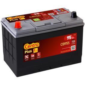 CENTRA Starterbatterie 12V 95Ah 760A Korean B1 D31 Bleiakkumulator