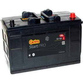 CENTRA Nutzfahrzeugbatterien 110Ah, 12V, 750A, B01, B1, Bleiakkumulator