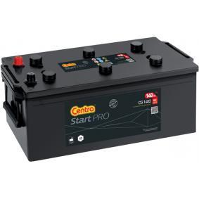 CENTRA Nutzfahrzeugbatterien 140Ah, 12V, 800A, B0, B00, Bleiakkumulator