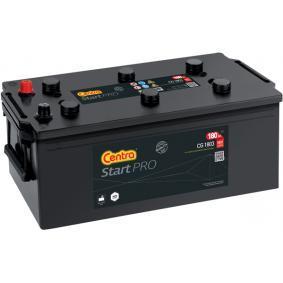 CENTRA Nutzfahrzeugbatterien 180Ah, 12V, 1000A, B0, B00, Bleiakkumulator