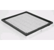 Air filter JEEP GRAND CHEROKEE 2 (WJ, WG) 2002 year CAF100666P CHAMPION Filter Insert, with cover mesh