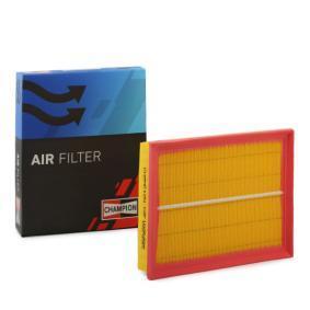 Въздушен филтър дължина: 295мм, ширина: 234мм, височина: 42мм с ОЕМ-номер 91155714