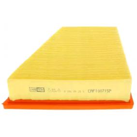 Luftfilter Länge: 216mm, Breite: 218mm, Breite 1: 125,5mm, Höhe: 58,5mm mit OEM-Nummer 5Z0 129 620