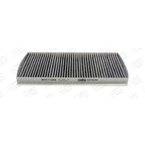 Filter, Innenraumluft Länge: 331mm, Breite: 162mm, Höhe: 30mm mit OEM-Nummer 9179904