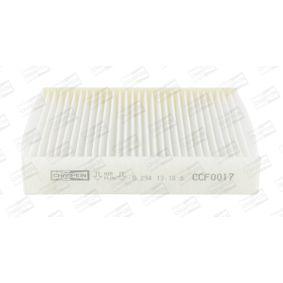 2005 Honda Jazz GD 1.3 iDSi Filter, interior air CCF0017