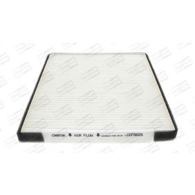 Filtro, aire habitáculo Long.: 247mm, Ancho: 207mm, Altura: 19mm con OEM número EC 965 396 49