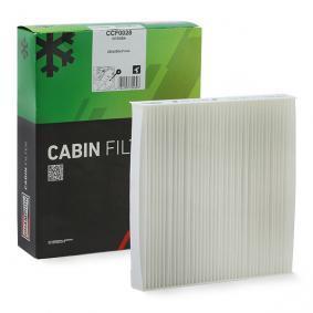 Filter, Innenraumluft Länge: 216mm, Breite: 224mm, Höhe: 35mm mit OEM-Nummer 6447.KR