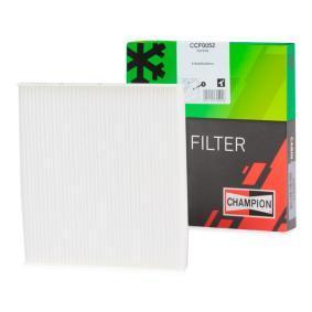 Filter, Innenraumluft Länge: 200mm, Breite: 220mm, Höhe: 20mm mit OEM-Nummer 8856802030