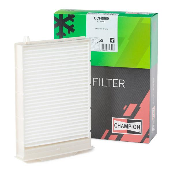 Innenraumfilter CCF0060 CHAMPION CCF0060 in Original Qualität