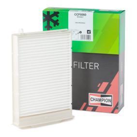 Filter, Innenraumluft Länge: 248mm, Breite: 185mm, Höhe: 35mm mit OEM-Nummer 77 01 055 109