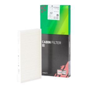 Filter, Innenraumluft Länge: 286mm, Breite: 160mm, Höhe: 31mm mit OEM-Nummer 60653641