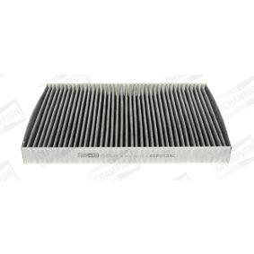 CHAMPION Filter, Innenraumluft CCF0124C für AUDI A4 (8E2, B6) 1.9 TDI ab Baujahr 11.2000, 130 PS