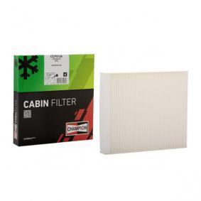 Filter, Innenraumluft Länge: 241mm, Breite: 204mm, Höhe: 35mm mit OEM-Nummer 13271190