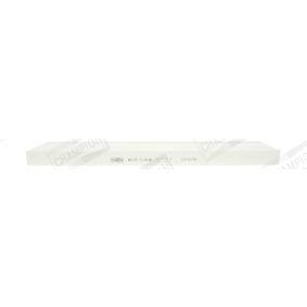 Filter, Innenraumluft Länge: 513mm, Breite: 103mm, Höhe: 30mm mit OEM-Nummer 3401703