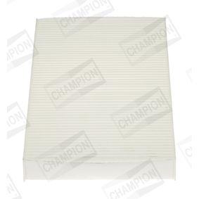 Filter, Innenraumluft Länge: 289mm, Breite: 160mm, Höhe: 31mm mit OEM-Nummer 2 995 965