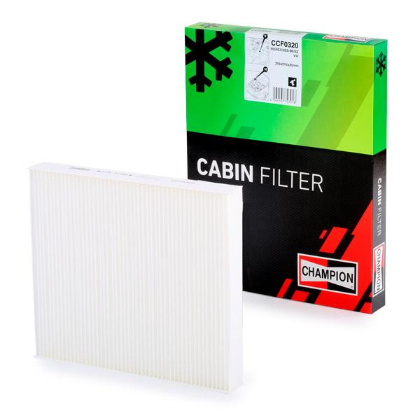 Cabin Air Filter CHAMPION CCF0320 expert knowledge