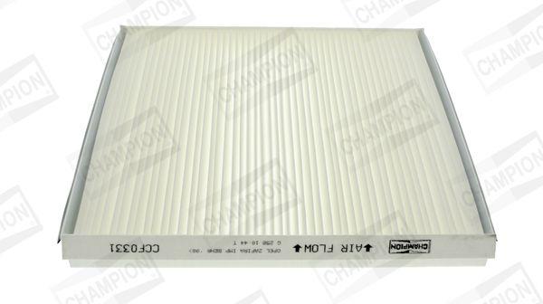 CHAMPION  CCF0331 Filter, Innenraumluft Länge: 262mm, Breite: 228mm, Höhe: 30mm