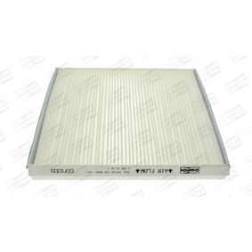 Filter, Innenraumluft Länge: 262mm, Breite: 228mm, Höhe: 30mm mit OEM-Nummer 18 08 612